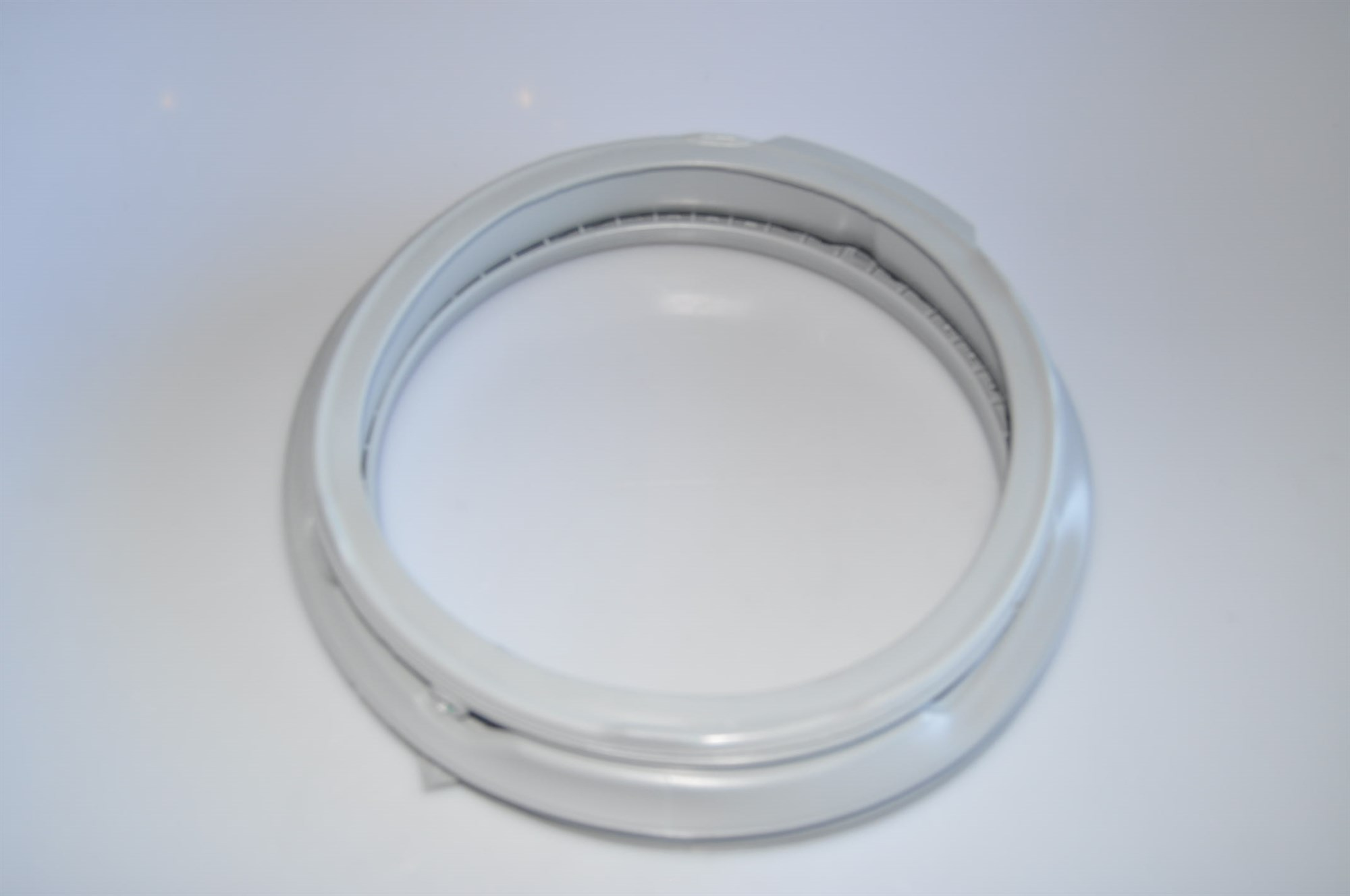 how to clean the rubber seal of a washing machine