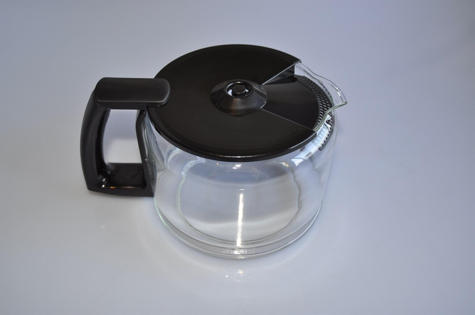 Glass Jug For Coffee Maker : Glass jug, Krups coffee maker - Black