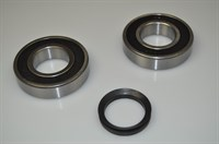 Bearing kit, Asko washing machine (V-40 + 6207 + 6207)