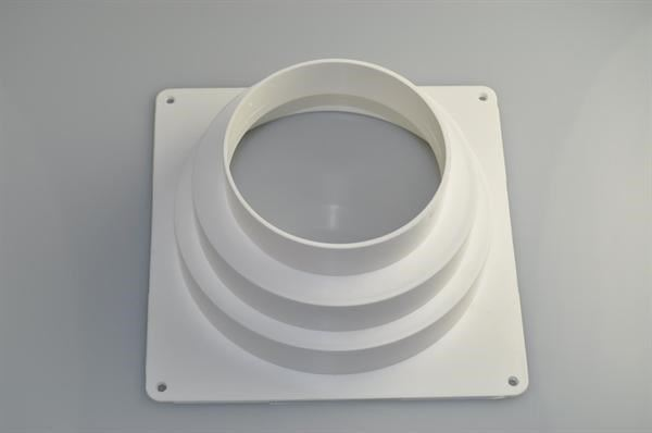 Wall Flange Universal Tumble Dryer 175 Mm X 175 Mm